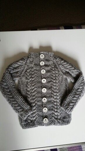 Toddler 12mths cardigan ~ I found pattern from sweetlivingmagazine.co.nz/knit-a-toddlers-cardigan/