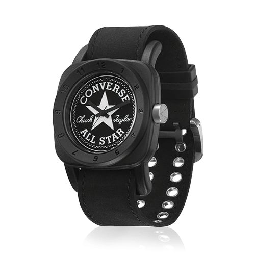 Converse - 1908 Premium - Stainless steel screw in back case, Black hands, Pin buckle.