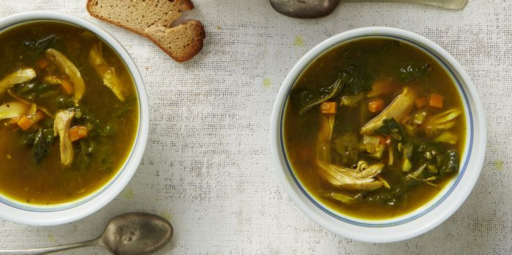 Kung-Flu-Fighting Chicken Soup via @iquitsugar