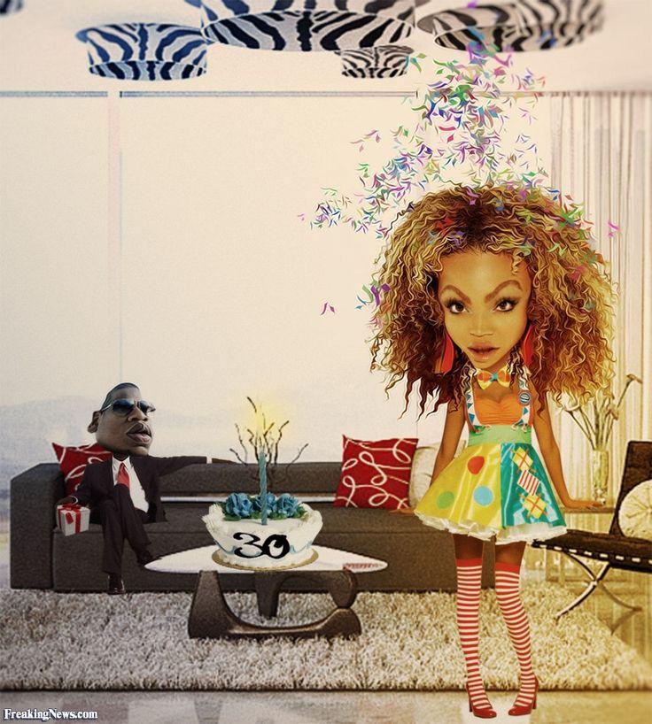 Beyonce Happy Birthday Caricatures   Happy Birthday Beyonce