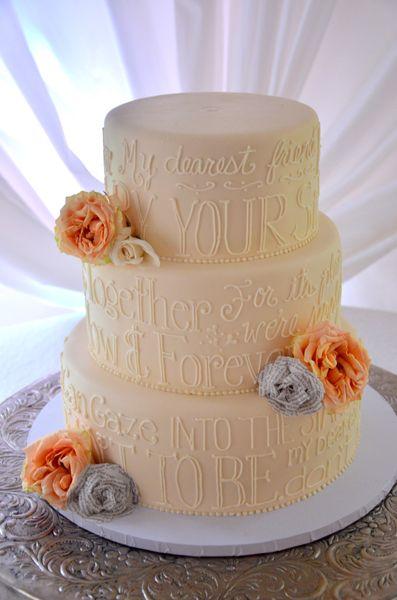 62 best Wedding Cakes images on Pinterest | Wednesday, Wedding ...