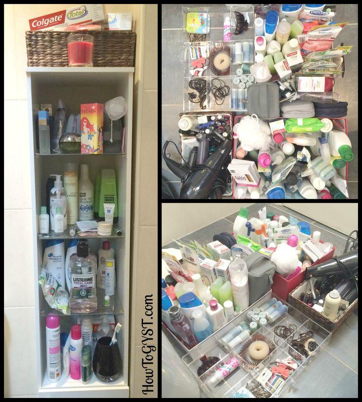 Konmari Kitchen Organization: My KonMari Journey - 'Komono' - Toiletries
