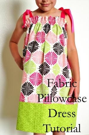 pillowcase dress by lizzie