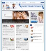 AnxietyAttackRemedies.com - Website for Sale on Flippa: Anxiety and Weight Loss Site - Premium Design - Automated Money Maker Site