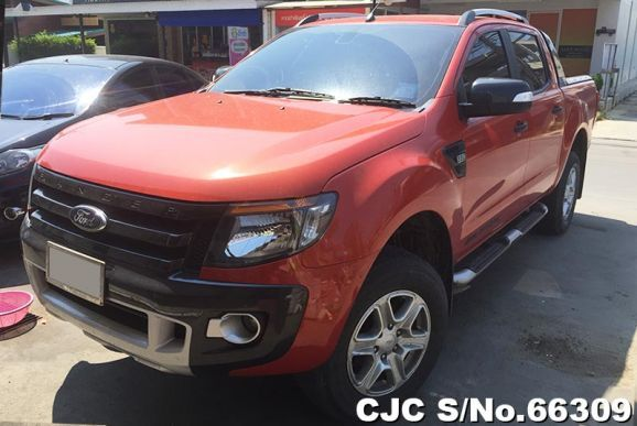 Ford Ranger 2 2 Double Cab Wildtrack Hi Rider At 2013 For Sale The