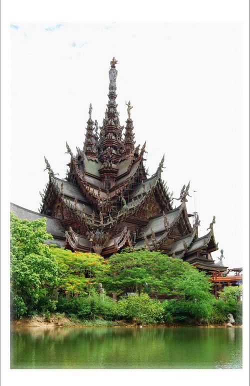 The Sanctuary of Truth, Pattaya, Thailand