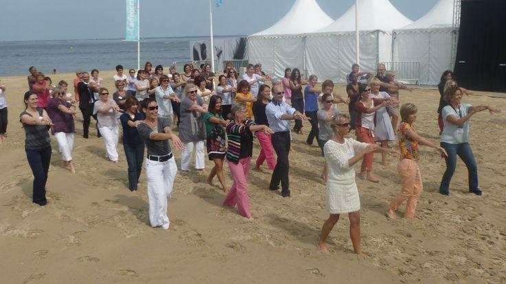 Souvenirs, souvenirs... Danse du #SHA #RVArcachon 2012. Vivement les prochains RV !