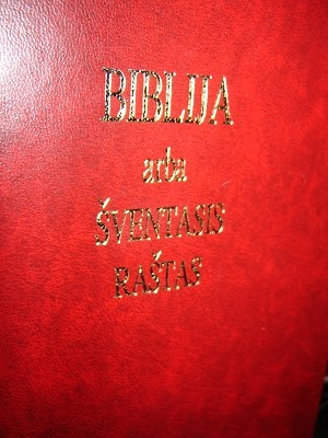 Lithuanian Bible / 053 UBS 1999 / Printed in Finland / Hardcover