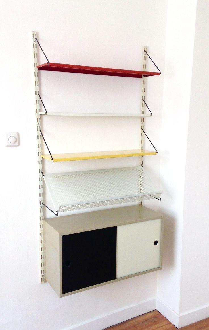 Wall Unit by Tjerk Reijenga for Pilastro  on  http://www.midcenturydutch.com/shop/pilastro-wall-unit
