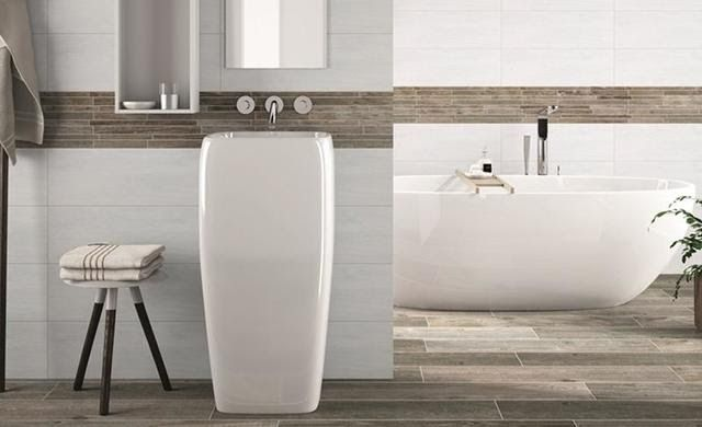 Badezimmer Fliesen Modern In 2020 Modern Bathroom House