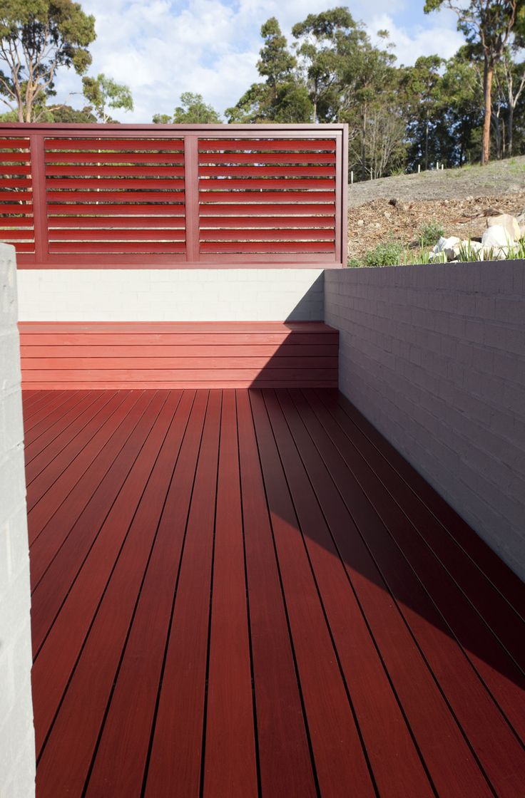 DecoDeck Jarrah  Naturally beautiful Australian made, Super Durable, Low Maintenance decking. Timber look aluminium.  #decodeck #deck #decking #jarrah #timber #aluminium