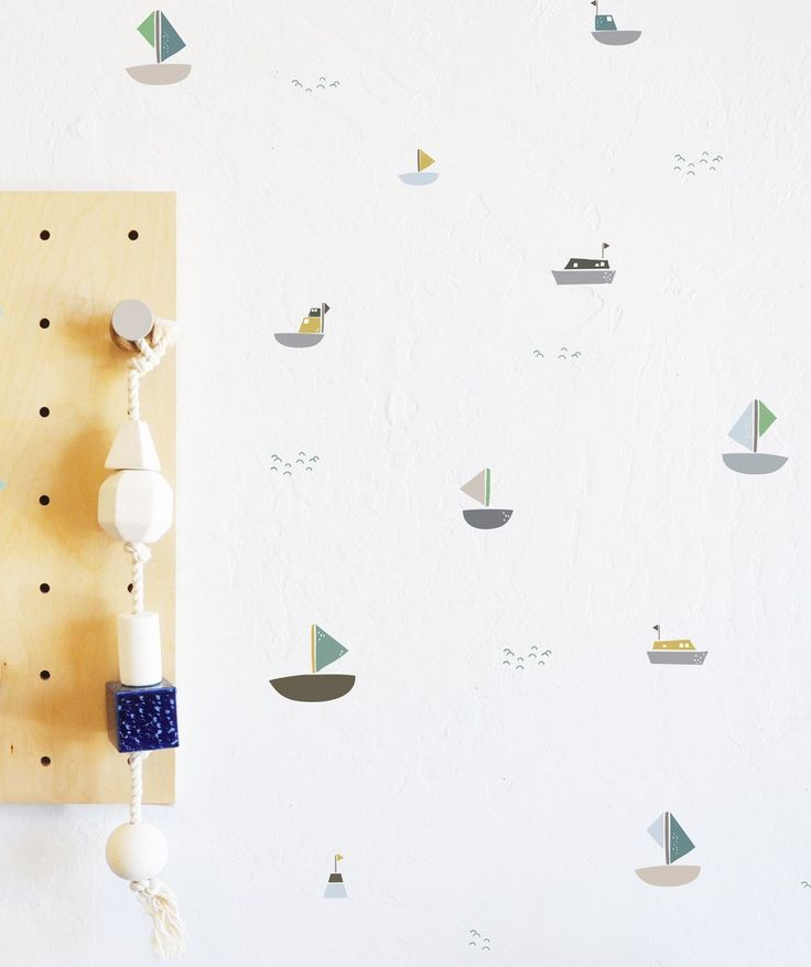 Wall Decal - Come Sail Away - Boats - Nautical - wall sticker - room decor children's wall decal, kids wall art, boys wall decal, boys wall art, boys wall decor ideas, boys bedroom ideas, boys bedroom, boys room, boys room paint ideas, boys room decor, boys wall decal, playroom ideas, playroom decor, nautical wall decal, boat wall art