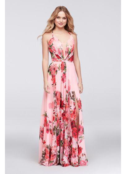 a6e1884e35 Long A-Line Spaghetti Strap Formal Dresses Dress - Cachet | New Me ...
