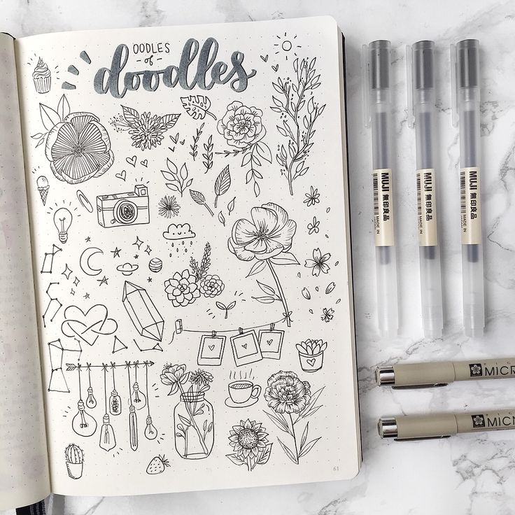 "3,721 Likes, 67 Comments - elissa ☕️ (@sleepy.bujo) on Instagram: ""☁️ oodles of doodles !! ❀ thank you so much for 4.1k !!! guys i'm dying i love you all sm • #doodle…"""