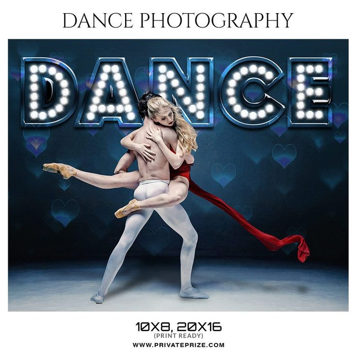 Couple Dance Photography - Enliven Effects Photoshop Template