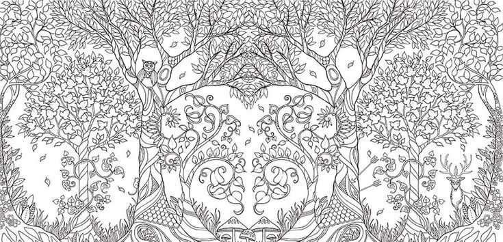 Who said adults can't use coloring books? Johanna Basford, a talented illustrator and artists in the UK, has created a series of coloring books that have become wildly popular, selling more than a million copies. Basford's beautiful books are full of beautiful illustrations of fairytale forests and beasts.