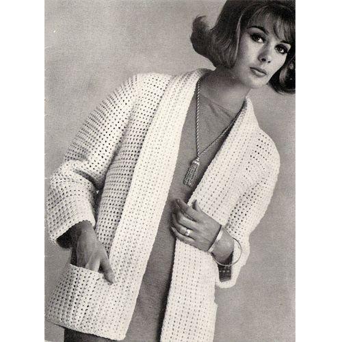 98 best Crochet Cardigan Jacket Patterns, Vintage images on ...