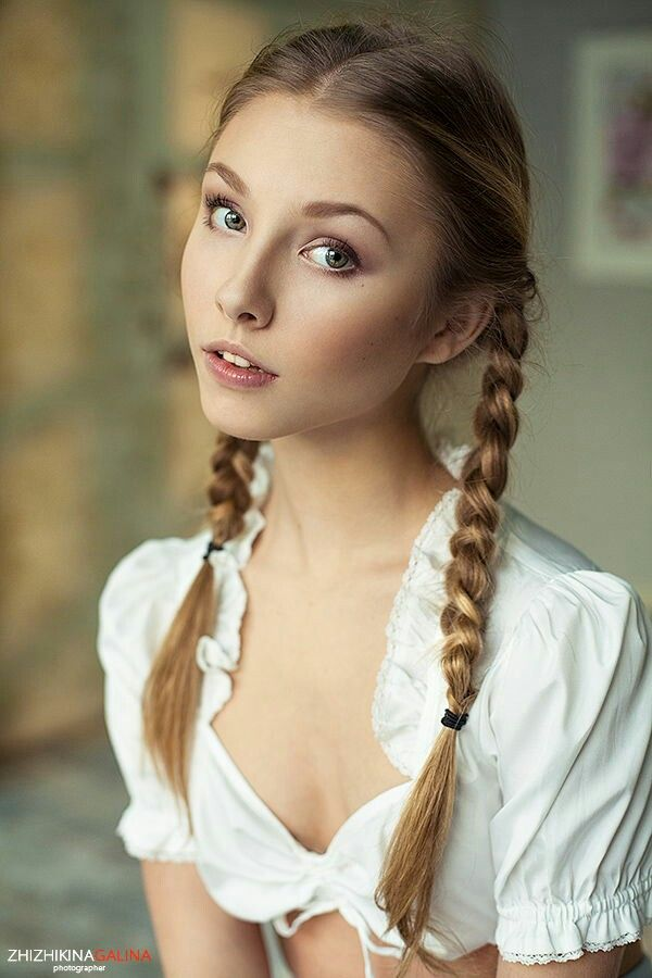 Pigtails Girls Non Nude