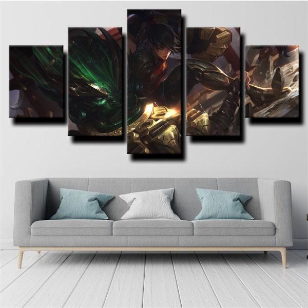 Dota 2 Medusa Bedroom Wall Designs Wall Decor Living Room Canvas Art Wall Decor