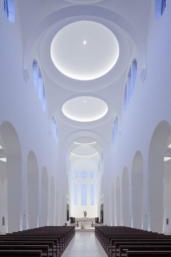 Church of St Moritz refurbishment by John Pawson Architects