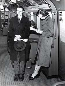 On the tube, 1930s