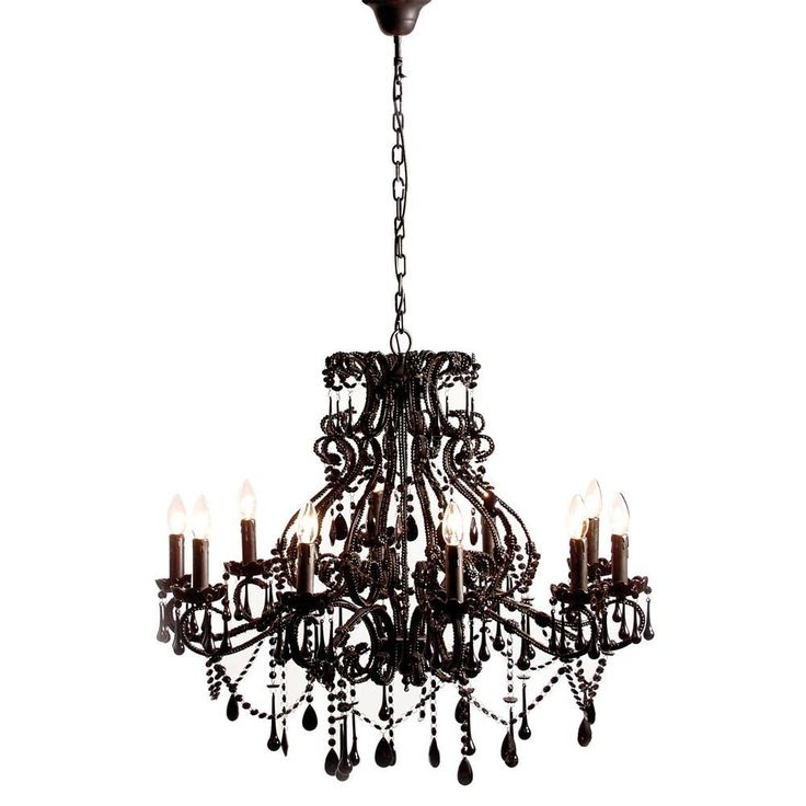 Buy The Beautifully Designed Sassy Boo Black Chandelier, By The French  Bedroom Company.