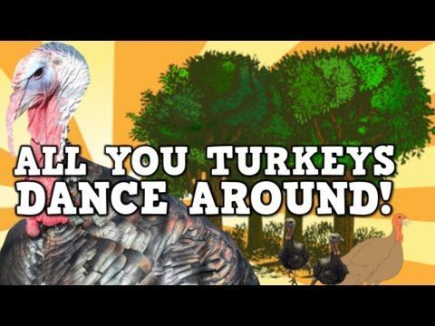 All You Turkeys Dance Around! (A content-rich turkey song for kids!- vocab, left and right, turkey facts) - YouTube