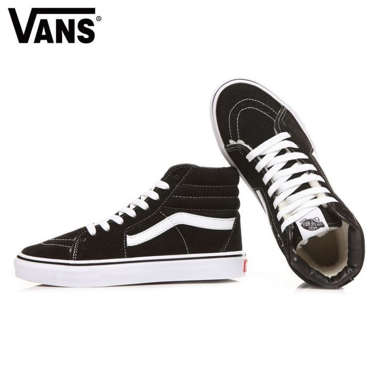 And S Vans winter warm plus velvet high top men and women shoes! Black high help (inside plus full hair) shoes body anti-fur 36-44 standard code number! This winter can not be ill-treated! Model: L0616 #Vans