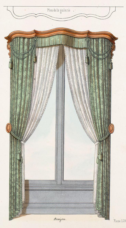 306 best mini curtain ideas images on pinterest for Garde meuble paris