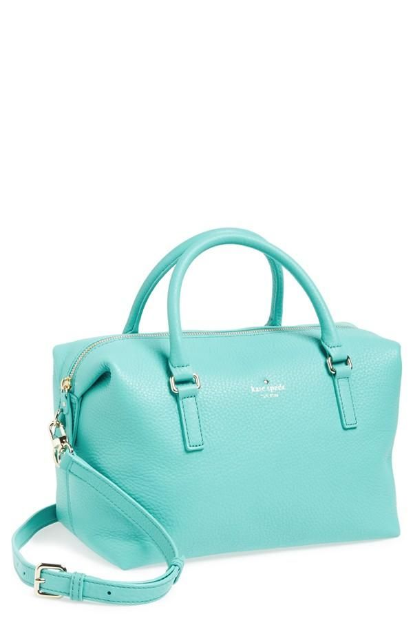 Cute in blue! Kate Spade 'henry lane - emmy' satchel.