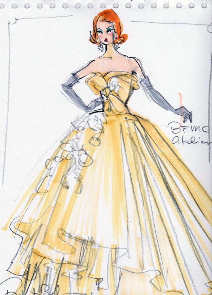 Barbie A Fashion Fairytale Dresses Sketches 423 best Robert Best.....