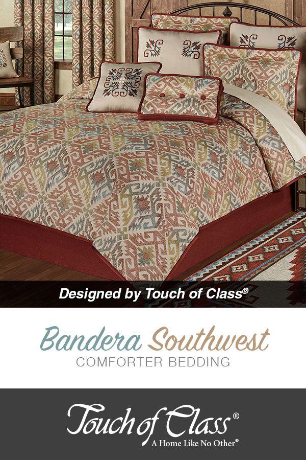 Bandera Southwest Comforter Bedding Comforters Bed Comforter Sets