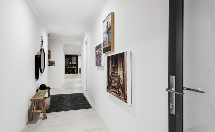 The light and airy entry hall makes a stunning first impression