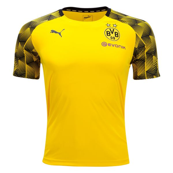 PUMA Borussia Dortmund 2018 Pre Match Training Jersey - WorldSoccershop.com |