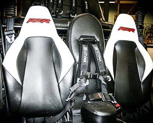 RZR Front Middle (Bump) Seat or RZR 4 Rear Middle (Bump) Seat With Harness By UTV Moutain UTV101B