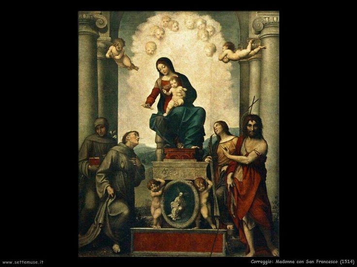 Madonna di San Francesco. 1514. Dresda