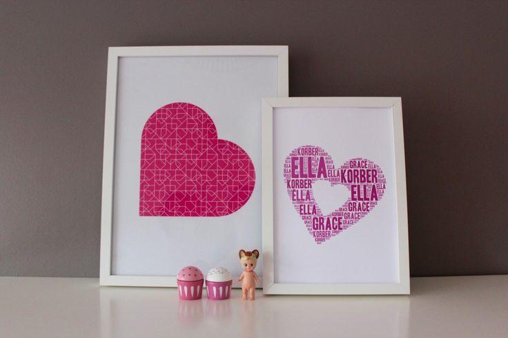 Introducing my new NAME IT Print Range - Happy Ella After Prints