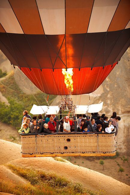Hot Air Balloon - Cappadocia Turkey