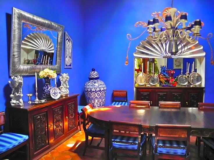 Dining Room Casa Schuck Boutique Hotel In San Miguel De Allende Mexican ColorsMexican StyleColor