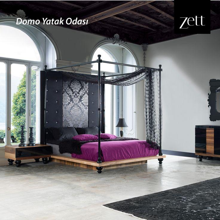 Her ayrıntısı ile rüya gibi bir tasarım; Domo Yatak Odası...