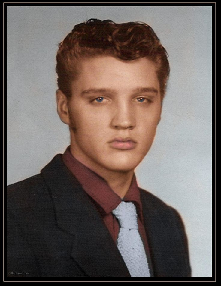 Rare Elvis Presley - Cute when he was young, sexy when he got older!