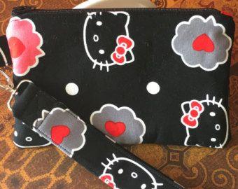 Abalorios Hello Kitty bolso de mano por CandysCabinet en Etsy