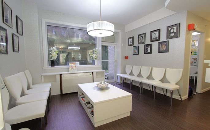 Spa Waiting Room New York City Beauty Salon Manicures Pedicures Skin Treatments