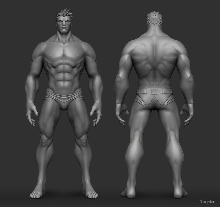 Male Anatomy Study, Yekaterina Bourykina on ArtStation at https://www.artstation.com/artwork/male-anatomy-study-1cdf88f5-fcb5-4087-b4d1-d485e965dedc