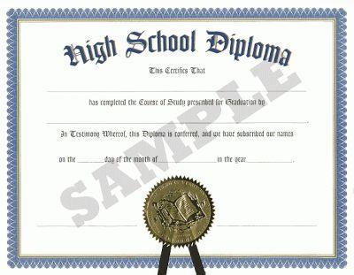 High School Diplomas versus the GED