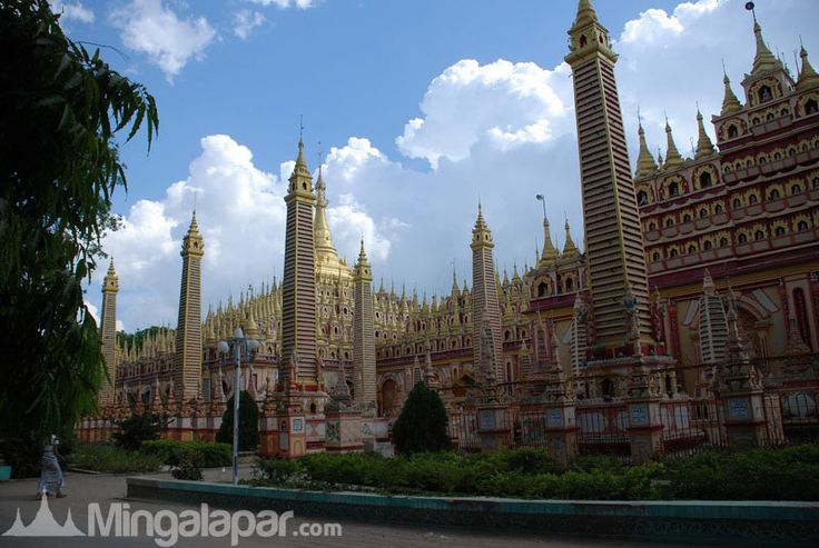 Beautiful pagodas in Myanmar