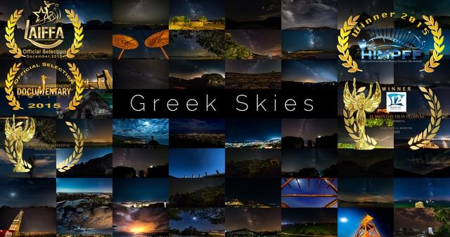 "A One-Year Timelapse project under Greek Skies!  365 Days, 55.000 Photos, 825 hours shooting photos, 8400km, 650 hours of editing dedicated to my dear dad Konstantinos who wasn't given a fair chance to fight against cancer.  Dad the video is ready, I know you are not here to see it together, but forgive me I cannot type ""in memory of"" for you.. cause you never left me and you never will.  Μy immunosuppression didn't keep me down, neither the cold, nor the heat. What kept me out there d..."