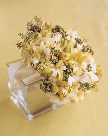 Bouquet dorato