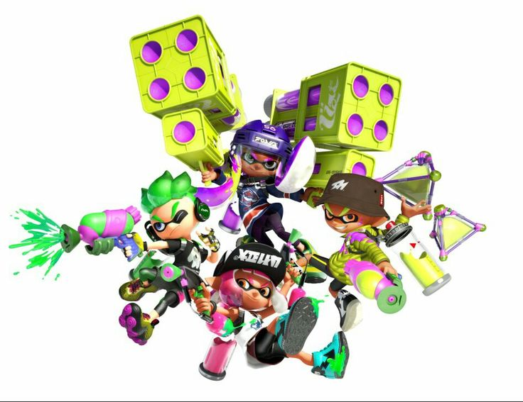 More Splatoon art Ooh I can't wait for this game to come out can't hardly wait
