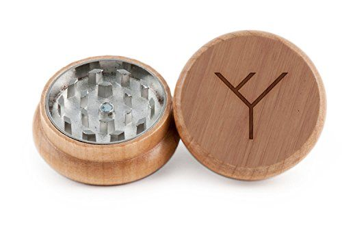 Phylogenetic Tree Herb and Weed Grinder  2 Piece Wood Grinder with Laser Etched Designs  Made with Oak 2 Inches *** See this great product.  This link participates in Amazon Service LLC Associates Program, a program designed to let participant earn advertising fees by advertising and linking to Amazon.com.